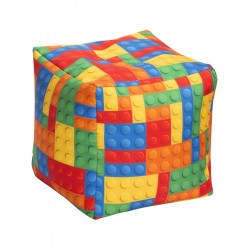 "Sitting Point Cube BRICKS ""lego"""