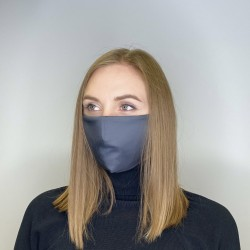 Kangasmaski Face Harmaa